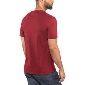 POLER Peace Paw T-Shirt Herren merlot